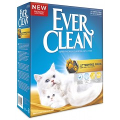 Everclean Litterfree paws για μακρύτριχες γάτες 6lt