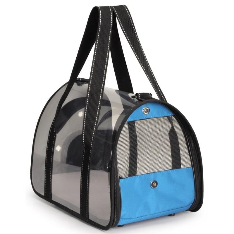Τσάντα Μεταφοράς Camon Transparent Cover 48x29x29cm Μπλε ΤΣΑΝΤΕΣ ΜΕΤΑΦΟΡΑΣ ΓΑΤΑΣ