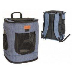 Τσάντα Μεταφοράς  Σακίδιο Πλάτης Camon Dog Fashion 34x30x43cm Μπλε