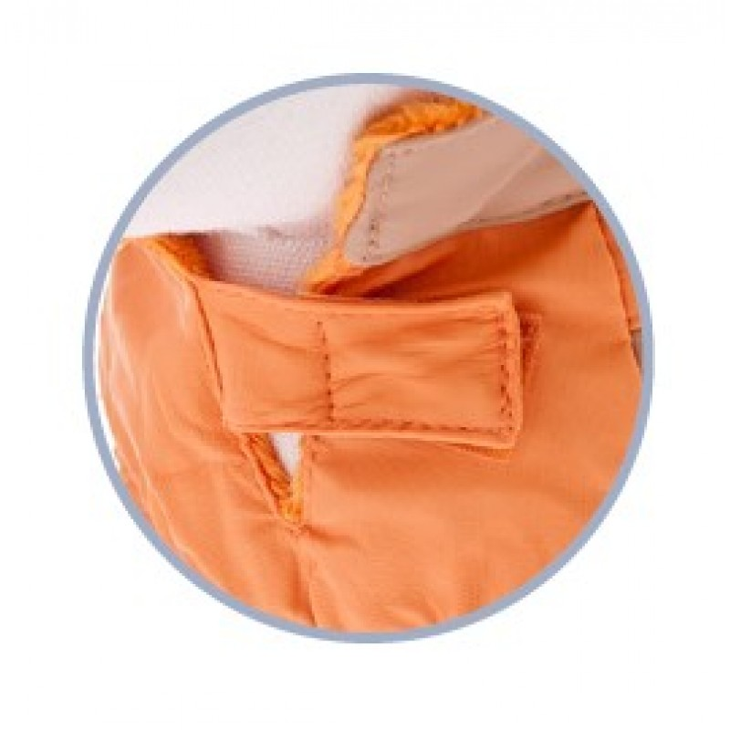 Αδιάβροχο Σκύλου Ferribiella Burcina Waterproof 60cm Orange ΡΟΥΧΑ - ΒΡΑΚΑΚΙΑ ΣΚΥΛΟΥ