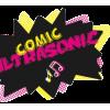 Comic Ultrasonic