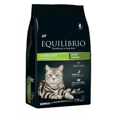 EQUILIBRIO ADULT STERILISED CATS 7,5KG