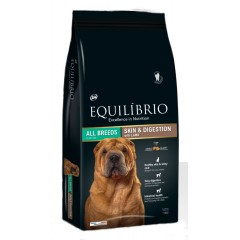 EQUILIBRIO ADULT SKIN AND DIGESTION LAMB 2KG