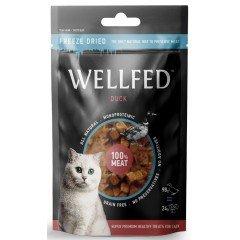 Λιχουδιές Γάτας Wellfed Freeze Dried με Πάπια 24gr