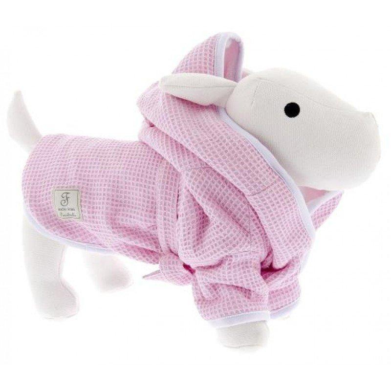 Μπουρνούζι Ferribiella Bath Robe Large 50cm Ροζ ΡΟΥΧΑ - ΒΡΑΚΑΚΙΑ ΣΚΥΛΟΥ