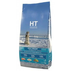 HT ADULT MEDIUM SALMON AND RICE 12.5KG