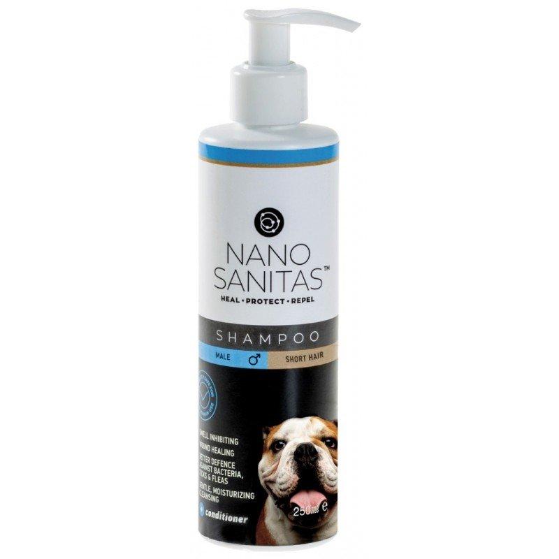 Nano Sanitas Σαμπουάν για Αρσενικούς Κοντότριχους Σκύλους 250ml ΒΟΥΡΤΣΕΣ- ΠΕΡΙΠΟΙΗΣΗ - ΣΑΜΠΟΥΑΝ