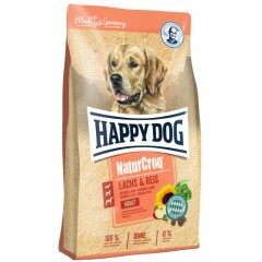 HAPPY DOG NATURCROQ SALMON & RICE 12Kg