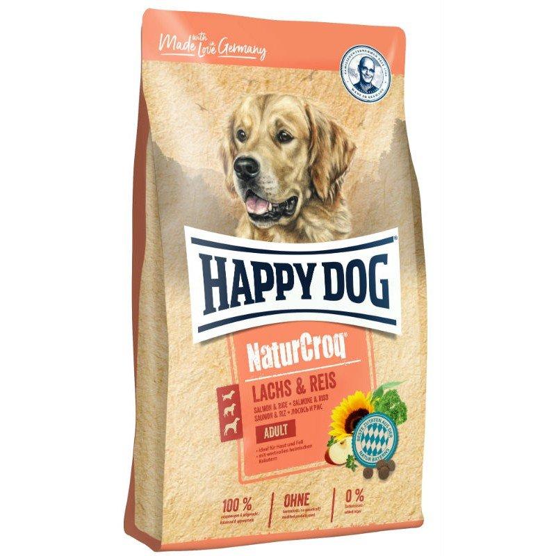 HAPPY DOG NATURCROQ SALMON & RICE 12Kg ΞΗΡΑ ΤΡΟΦΗ ΣΚΥΛΟΥ