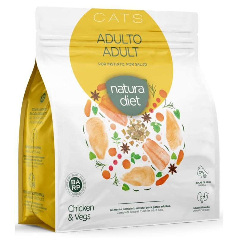 Natura Diet Cat Adult Chicken 400gr (1+ 1 Δώρο) ΓΑΤΕΣ