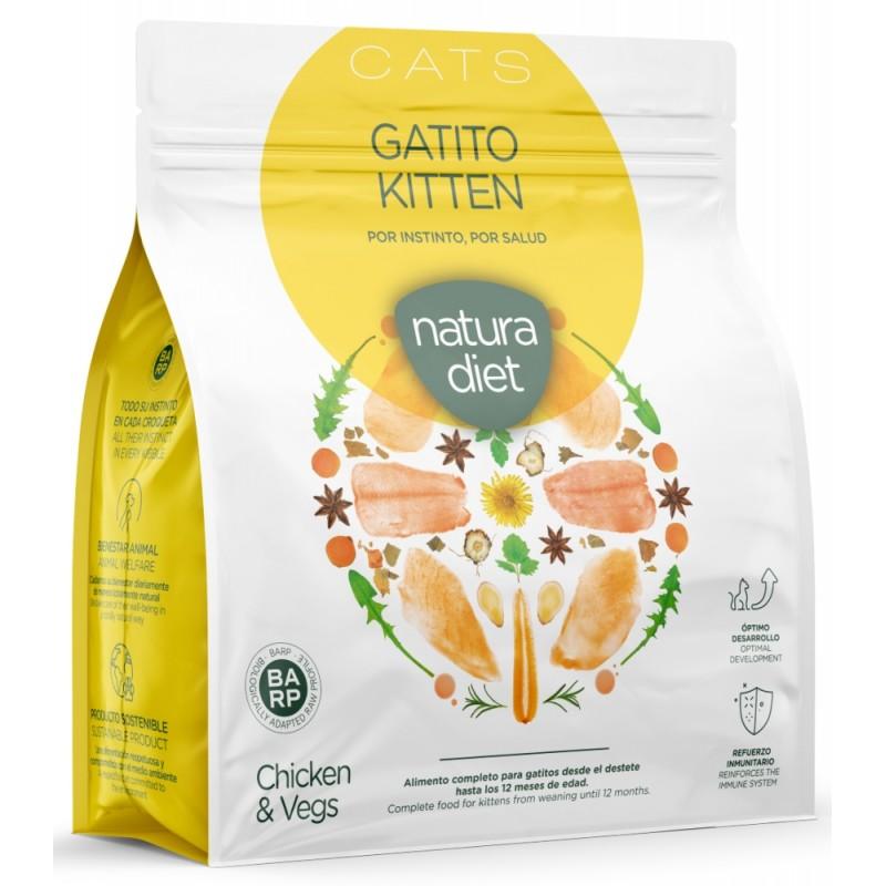 Natura Diet Cat Kitten Chicken 400gr (1+1 Δώρο) ΓΑΤΕΣ