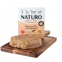 Naturo Dog Grain Free Σολομός Ρύζι και Λαχανικά 400gr