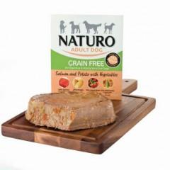 Naturo Dog Grain Free Σολομός και Πατάτα 400gr