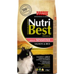 NUTRIBEST PICART CAT SENSITIVE SALMON & RICE 15kg