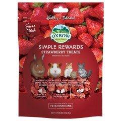 Λιχουδιές Τρωκτικών Oxbow Simple Rewards Φράουλα 14gr