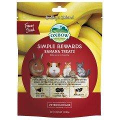 Λιχουδιές Τρωκτικών Oxbow Simple Rewards Μπανάνα 30gr