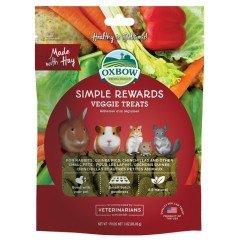 Λιχουδιές Τρωκτικών Oxbow Simple Rewards Λαχανικά 60gr