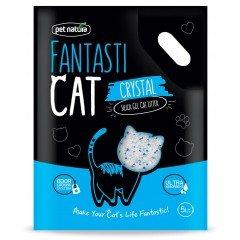 Κρυσταλλική άμμος Pet Natura Fantastic Cat 2kg ( 5lt)