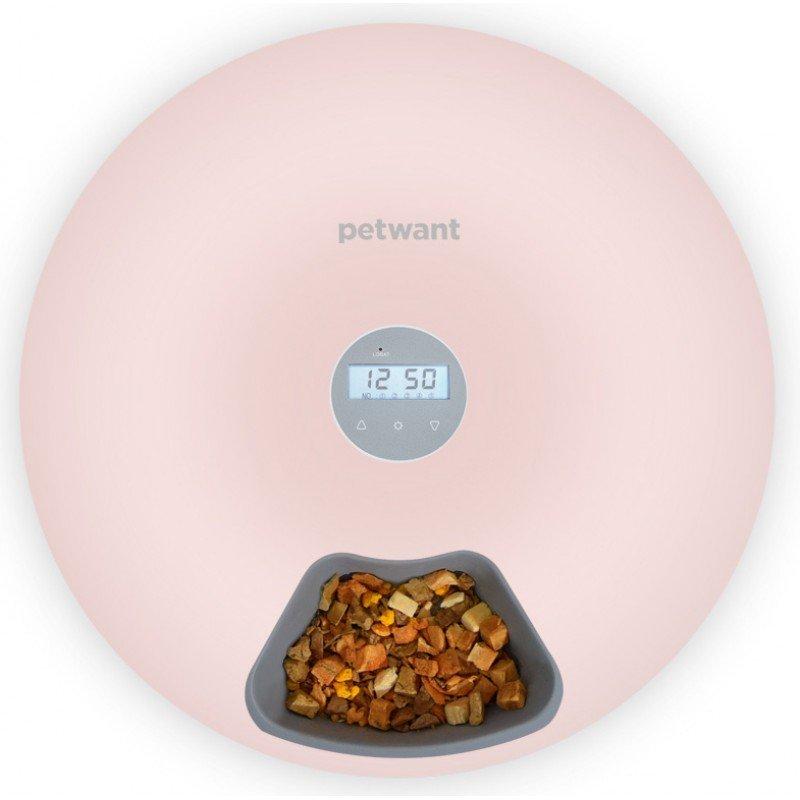 Αυτόματη Ηλεκτρονική Ταΐστρα Pet Feeder 180ml x 6 γεύματα Πράσινο ΜΠΟΛΑΚΙΑ-ΤΑΙΣΤΡΕΣ