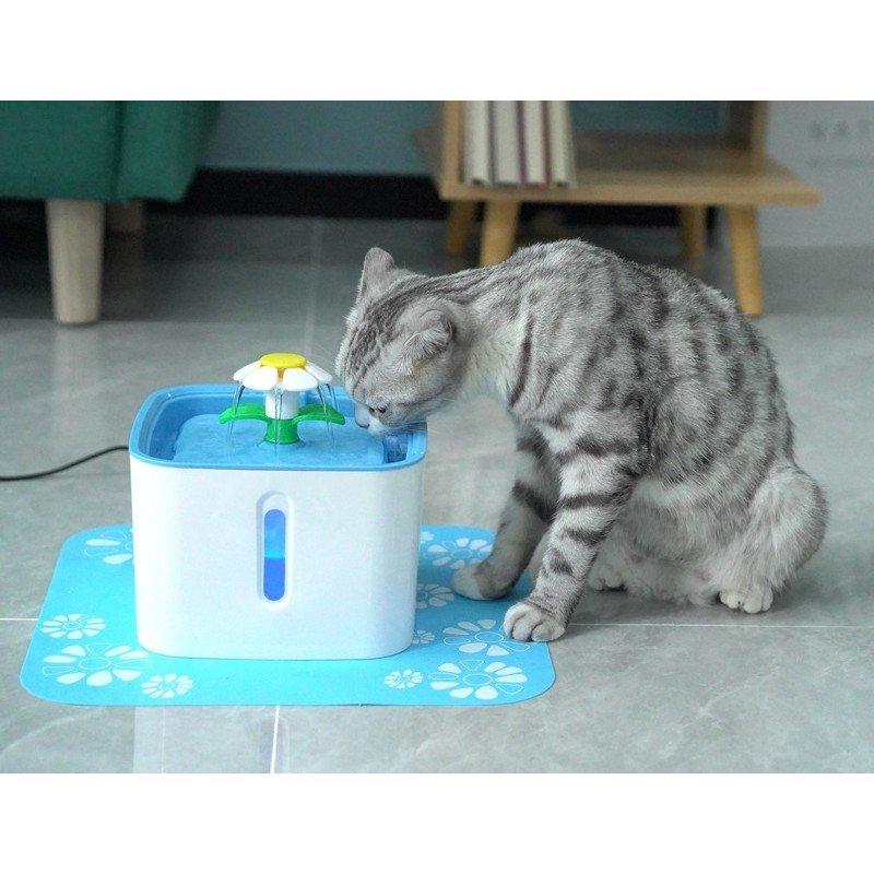 Αυτόματη Ποτίστρα Συντριβάνι για σκύλους και γάτες Pet Water Flower 2,5L ΜΠΟΛΑΚΙΑ-ΤΑΙΣΤΡΕΣ