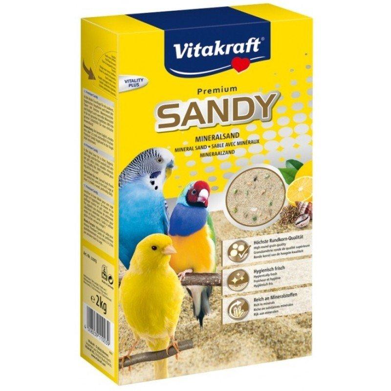 Vitakraft Bio Sand Άμμος πτηνών 2kg ΤΡΟΦΕΣ ΓΙΑ ΠΟΥΛΙΑ
