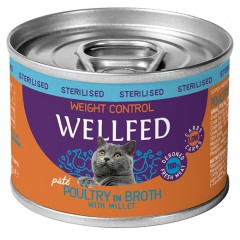 WELLFED WEIGHT CONTROL POULTRY WITH MILLET 200GR x12τμχ
