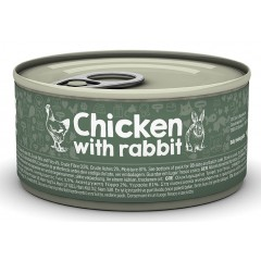 NATUREA CAT CHICKEN WITH RABBIT 85gr