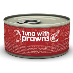 NATUREA CAT TUNA WITH PRAWNS 85gr