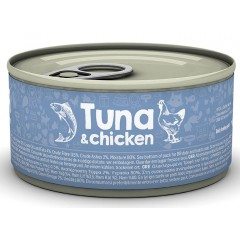 NATUREA CAT TUNA & CHICKEN 85gr