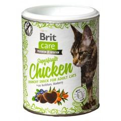 Λιχουδιές Brit Care Cat Superfruit Chicken 100gr