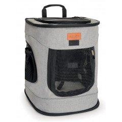 Τσάντα Μεταφοράς  Σακίδιο Πλάτης Camon Dog Fashion 34x30x43cm Γκρι
