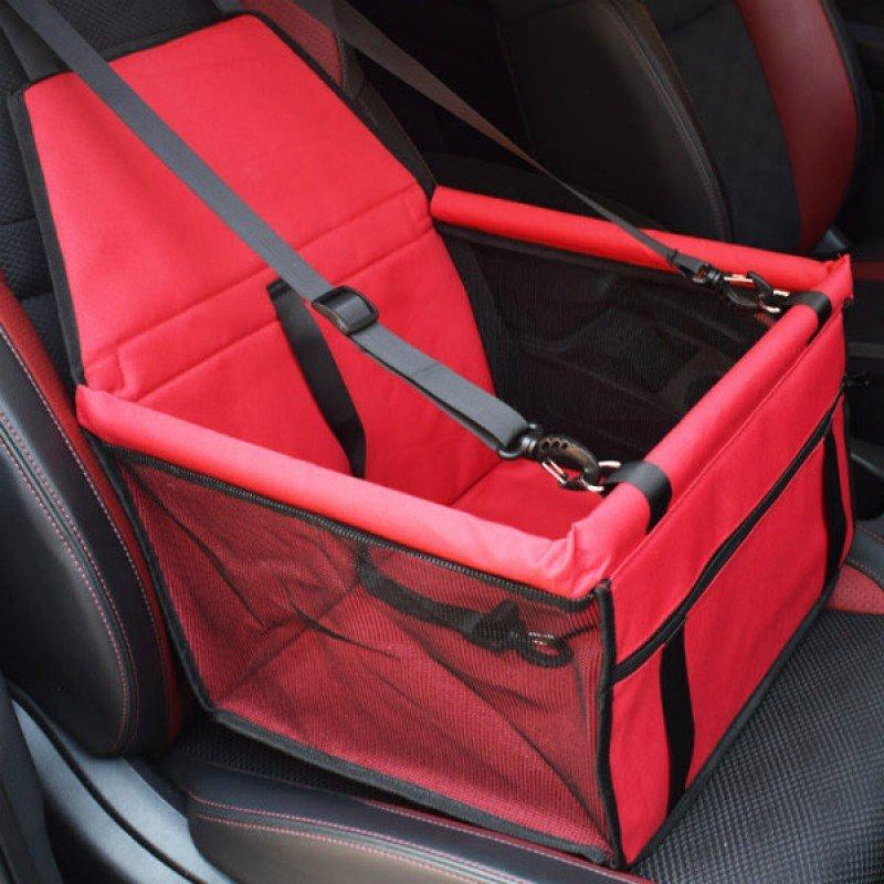 Τσάντα μεταφοράς - Καθισμα αυτοκινήτου Κόκκινο 40x40x25cm ΤΣΑΝΤΕΣ ΜΕΤΑΦΟΡΑΣ ΓΑΤΑΣ
