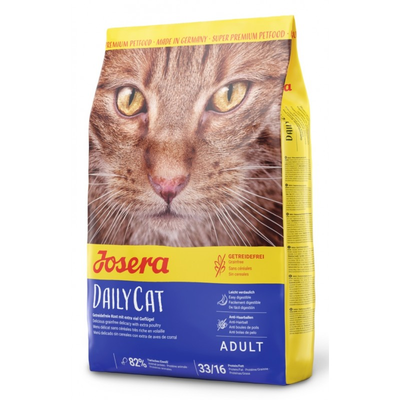 JOSERA DAILY CAT GRAIN FREE 2KG ΓΑΤΕΣ