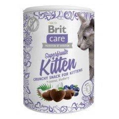 Λιχουδιές Brit Care Cat Superfruit Kitten 100gr