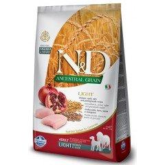 N&D LOW GRAIN CHICKEN & POMEGRANATE LIGHT MINI  2.5kg