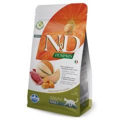 N & D CAT DUCK PUMPKIN & CANTALOUPE MELON 1,5KG