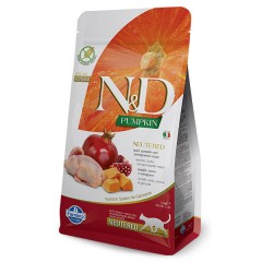 N & D CAT QUAIL PUMPKIN & POMEGRANATE NEUTERED 1,5KG