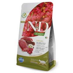 N & D CAT QUINOA URINARY DUCK 1,5KG