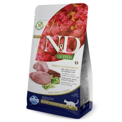 N & D CAT QUINOA WEIGHT MANAGEMENT LAMB 1,5KG