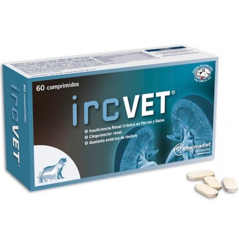 IRCVET Συμπλήρωμα διατροφής για την νεφρική λειτουργία για σκύλους και γάτες 60 δισκία ΣΥΜΠΛΗΡΩΜΑΤΑ ΔΙΑΤΡΟΦΗΣ & ΒΙΤΑΜΙΝΕΣ ΣΚΥΛΟΥ