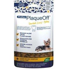 Κροκέτες Plaque Off κατά της κακοσμίας και της πέτρας 60 gr για μικρόσωμα σκυλιά και γάτες