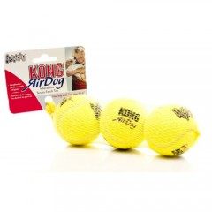 KONG AIR DOG TENNIS BALL WITH SQUEAKER MEDIUM 3τμχ