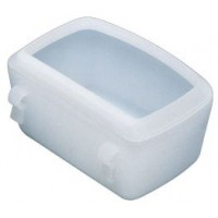 Ferplast Πιατάκι φαγητού ή νερού για κλουβιά μεταφοράς small 300ml ΚΛΟΥΒΙΑ BOX ΜΕΤΑΦΟΡΑΣ ΣΚΥΛΟΥ