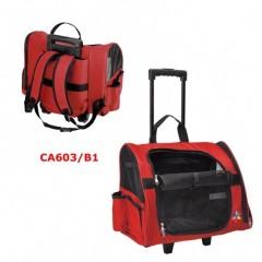 """Τσάντα Μεταφοράς """"Maxi"""" της Camon  43x26x36h cm κόκκινη"""