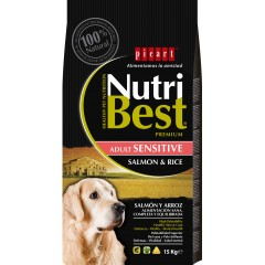 PICART NUTRIBEST SALMON & RICE 15KG