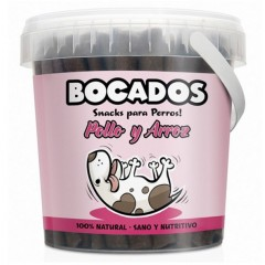 BOCADOS CHICKEN &RICE semi moist sticks 300gr