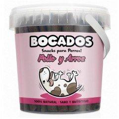 BOCADOS CHICKEN &RICE semi moist sticks 800gr