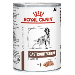ROYAL CANIN ΚΛΙΝΙΚΗ ΚΟΝΣΕΡΒΑ GASTRO INTESTINAL LOW FAT DOG CAN 12X410GR