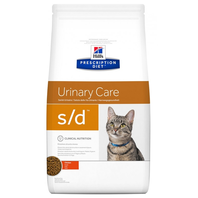 Hill's Prescription Diet s/d Urinary Care Για Γάτες Με Κοτόπουλο 1,5kg ΓΑΤΕΣ