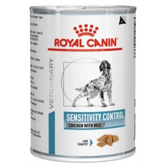 ROYAL CANIN SENSITIVITY CHICKEN DOG CAN 12X420GR